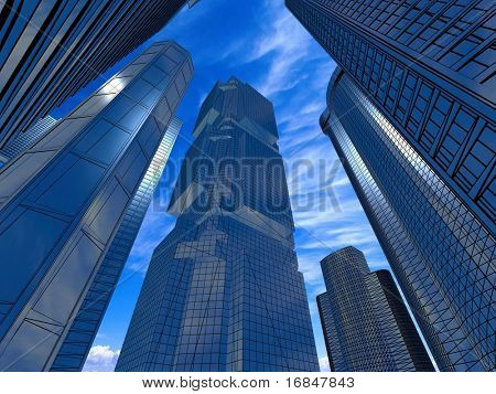 Business buildings