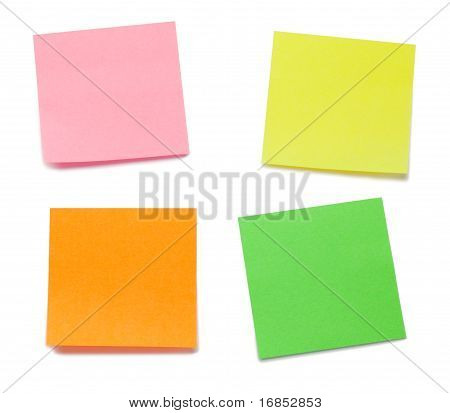 Color Post it Memo