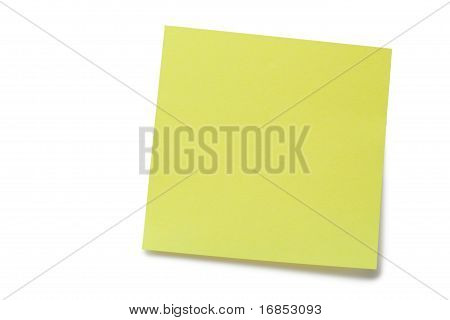 Amarillo Post-it Memo