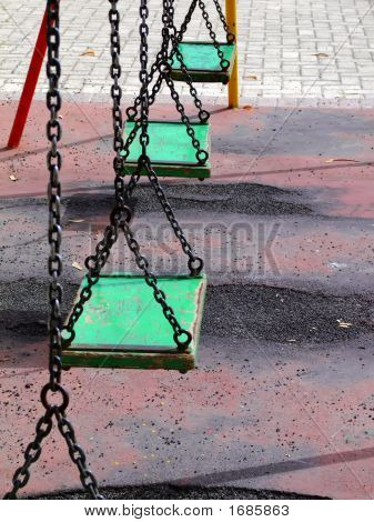 Old Playground Swingset
