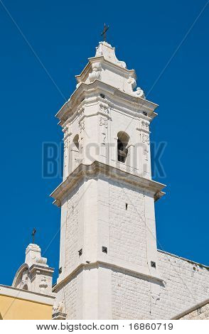 St. Pietro Belltower Church. Molfetta. Apulia.