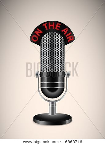 """On The Air"" Microphone"