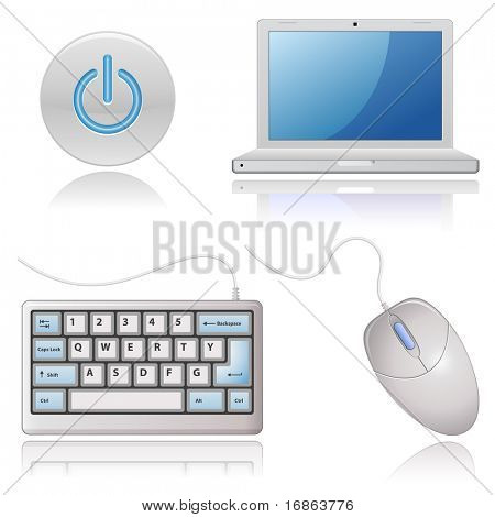 Universal Web Icons - Computers (vector version in portfolio)