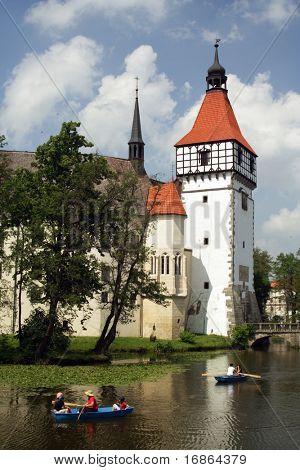 Burg Bechyne in Südböhmen