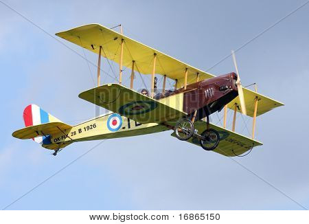 Historic plane Curtiss JN-4