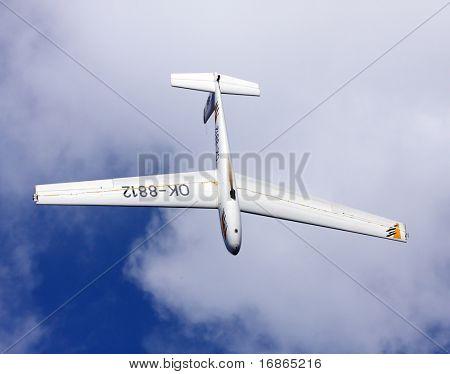 Famous Czech sport glider Blaník