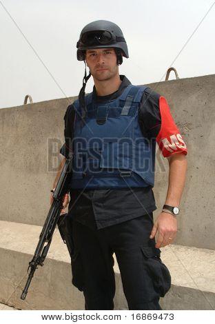 Italian Carabinieri Serving In Iraq.