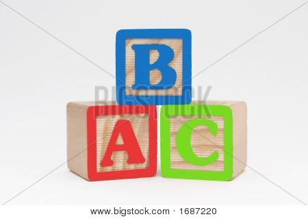 ABC Holzblöcke