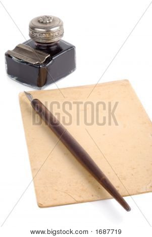 Vintage Writing Set