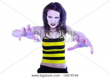 Modern witch - dangerous woman