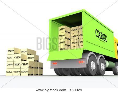 Camión de carga #1