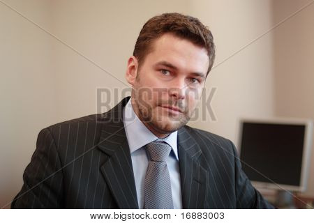 35 years old  business man portrait