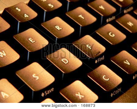 Golden Keyboard