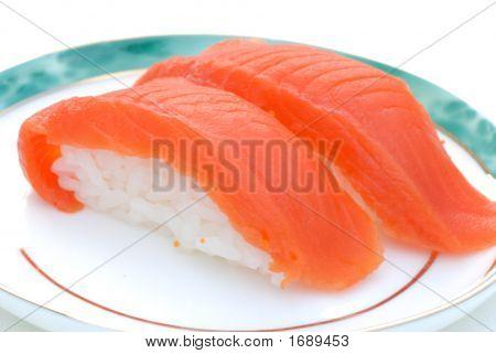 Sockeye Salmon Sushi