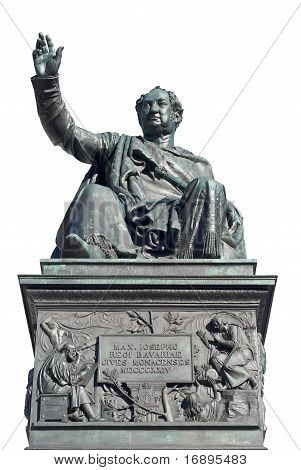 Monument Of Maximilian Joseph Cutout
