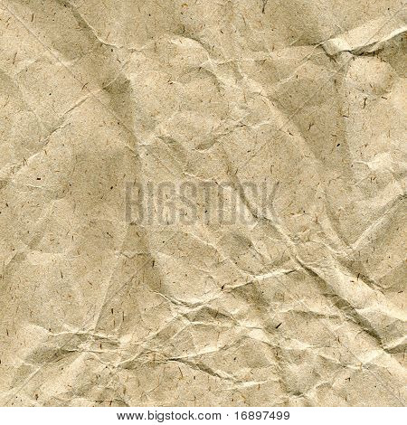 rumpling paper