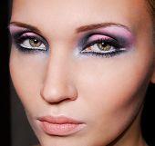 pic of facial piercings  - Beautiful face - JPG