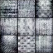 Metal grid set