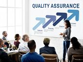 Assurance Quality Standard Warranty Guarantee Concept poster