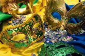 Brazilian carnival concept poster