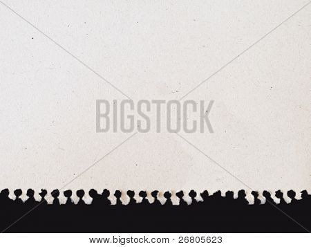 blank paper from notebook with spiral