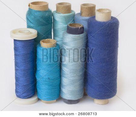 blue bobbins