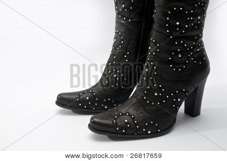 Female Leather Boot
