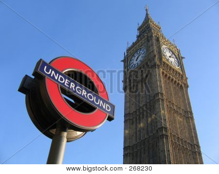 Big Ben And The London Underground