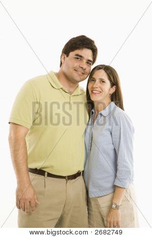 Hispanic Couple.
