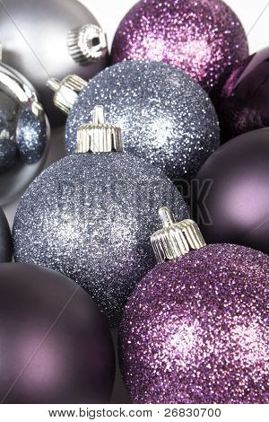 Shiny Christmas Ball Background.