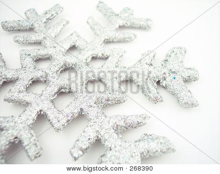 Copo de nieve de plata 2