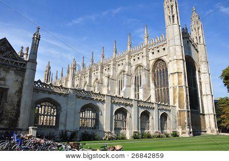 Kings College Cambridge Outside