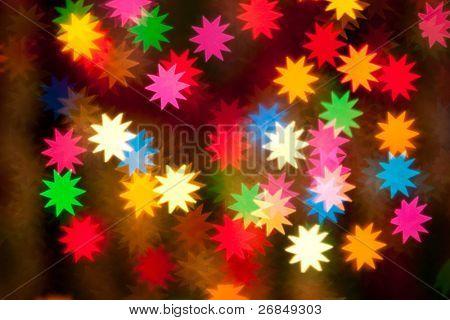 defocused stars background