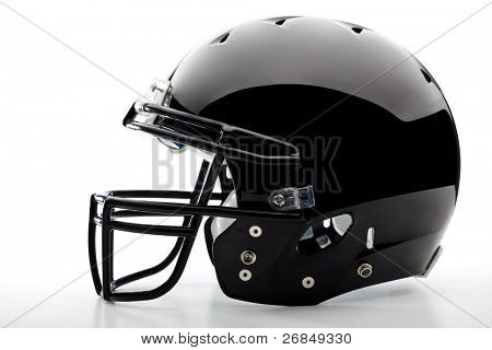 Football Helmet on white