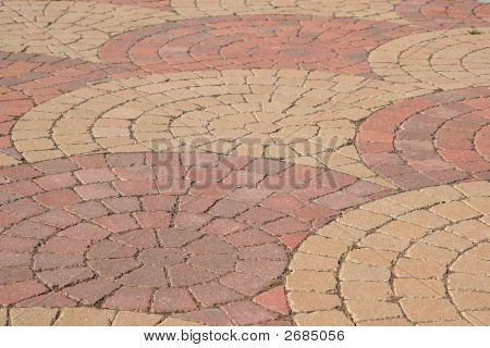 Swirled Brickwork