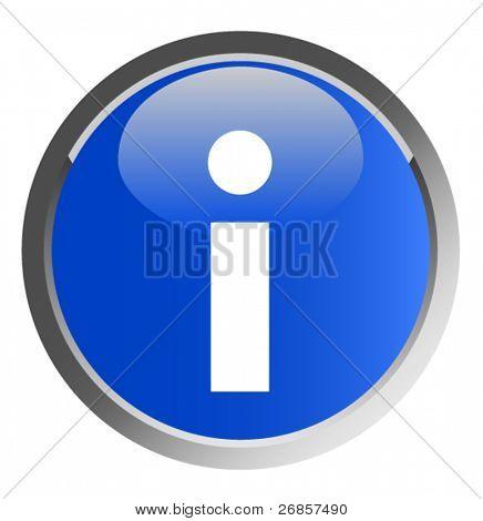 A vector information symbol (blue button)