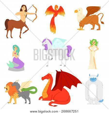 Mythological Animal Vector Mythical Creature