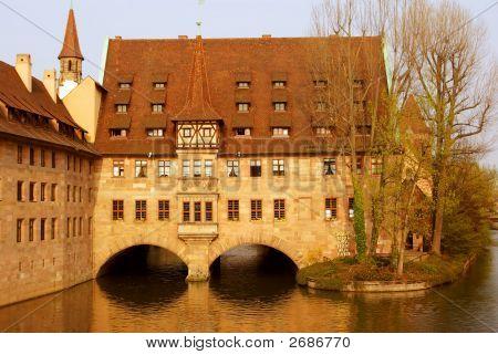A Castle - Heilig-Geist-Spital - Nurnberg, Germany