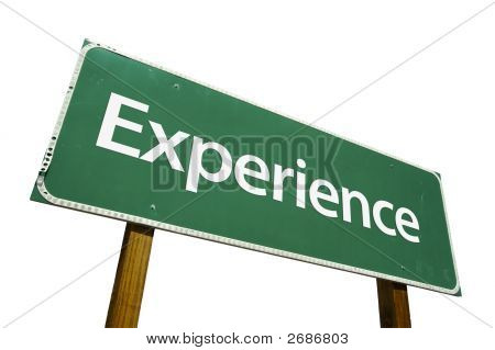 Experience - Road Sign