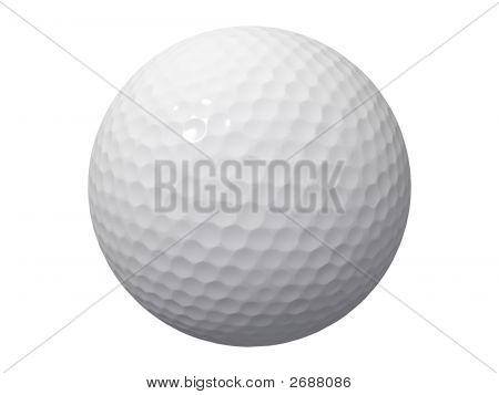 Golfball branco