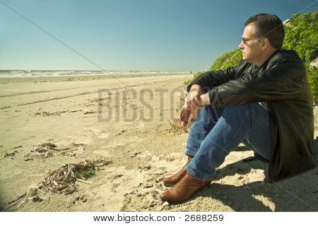 Enjoying Beach Therapy