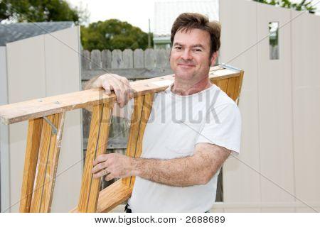 Handyman On The Job