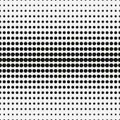 Abstract Halftone. Black Dots On White Background. Halftone Background. Vector Halftone Dots. Halfto poster