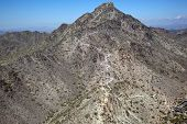 image of piestewa  - Popular hiking destination in the City of Phoenix Arizona Piestewa Peak - JPG
