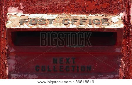 Old Red Mailbox