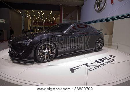 Toyota Ft-86 Ii Concept Car