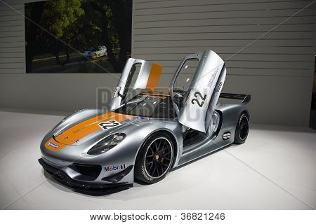 Porsche 918 Rsr Racing Lab Hybrid