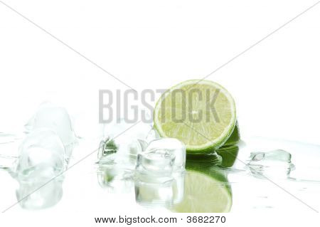 Fresh Lime With Ice