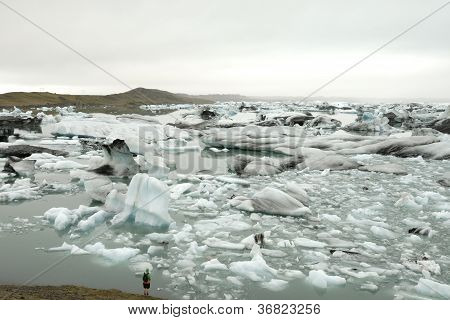 Ice lagoon.