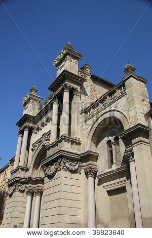 Madeleine Church In Aix-en-provence